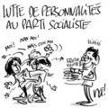 Lutte de personnalités au parti socialiste