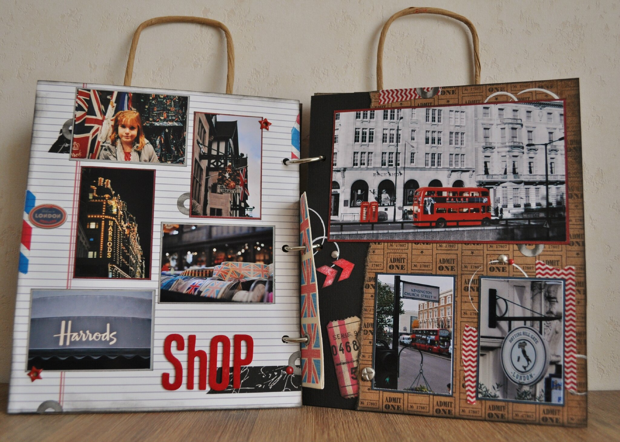 Londres so scrap - Idee scrapbooking amour ...