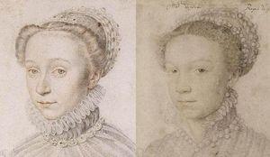 Comparaison dudit portrait avec celui d'Elisabeth