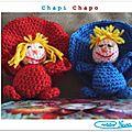 Chapi Chapo crochet tuto