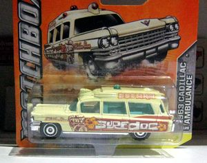 Cadillac ambulance de 1963 (Matchbox)