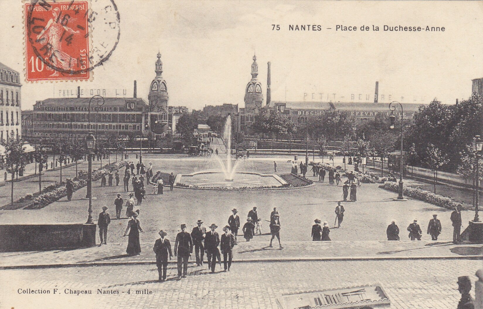 Carte postale ancienne nantes article vendu for O architecture brest