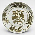 Dish, ming dynasty, hongzhi period (1488-1505)