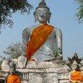 Bouddha, Wat Chetaram, Ayuthaya