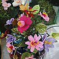 joli fleurs en dentelle