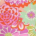 Kaffe Fassett Asian Circles rose