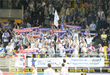 Montpellier supporters