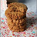 Peanut Butter Cookies & Dcouverte de la Bote  Miam !