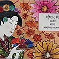 Art postal ukiyo-e estampe japonaise