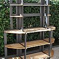 etagere en bois de palette
