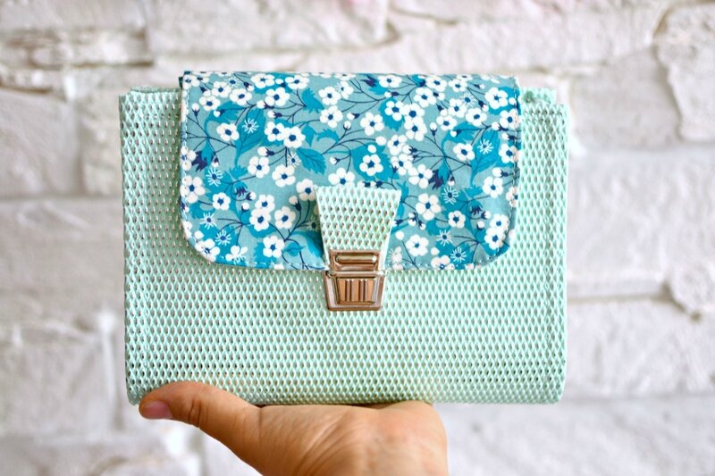 planner A6 liberty mitsi emeraude, personal planner A6, mint plannershirley ze pap