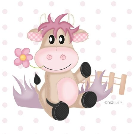 coupon vache rose2
