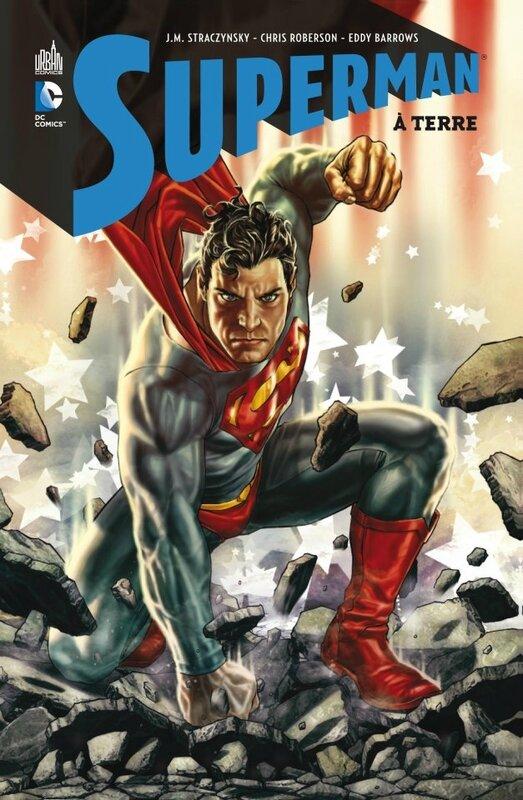 DC classique superman à terre
