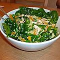 Salade de couscous marocain