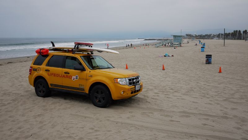 Los Angeles Venice Beach plage lifeguard