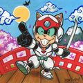 Fanart samurai pizza cats