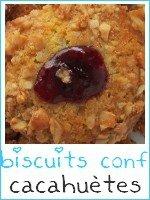 biscuits fourrés confiture et enrobés de cacahuètes - index