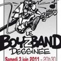 Le boy band dessinée à jodoigne