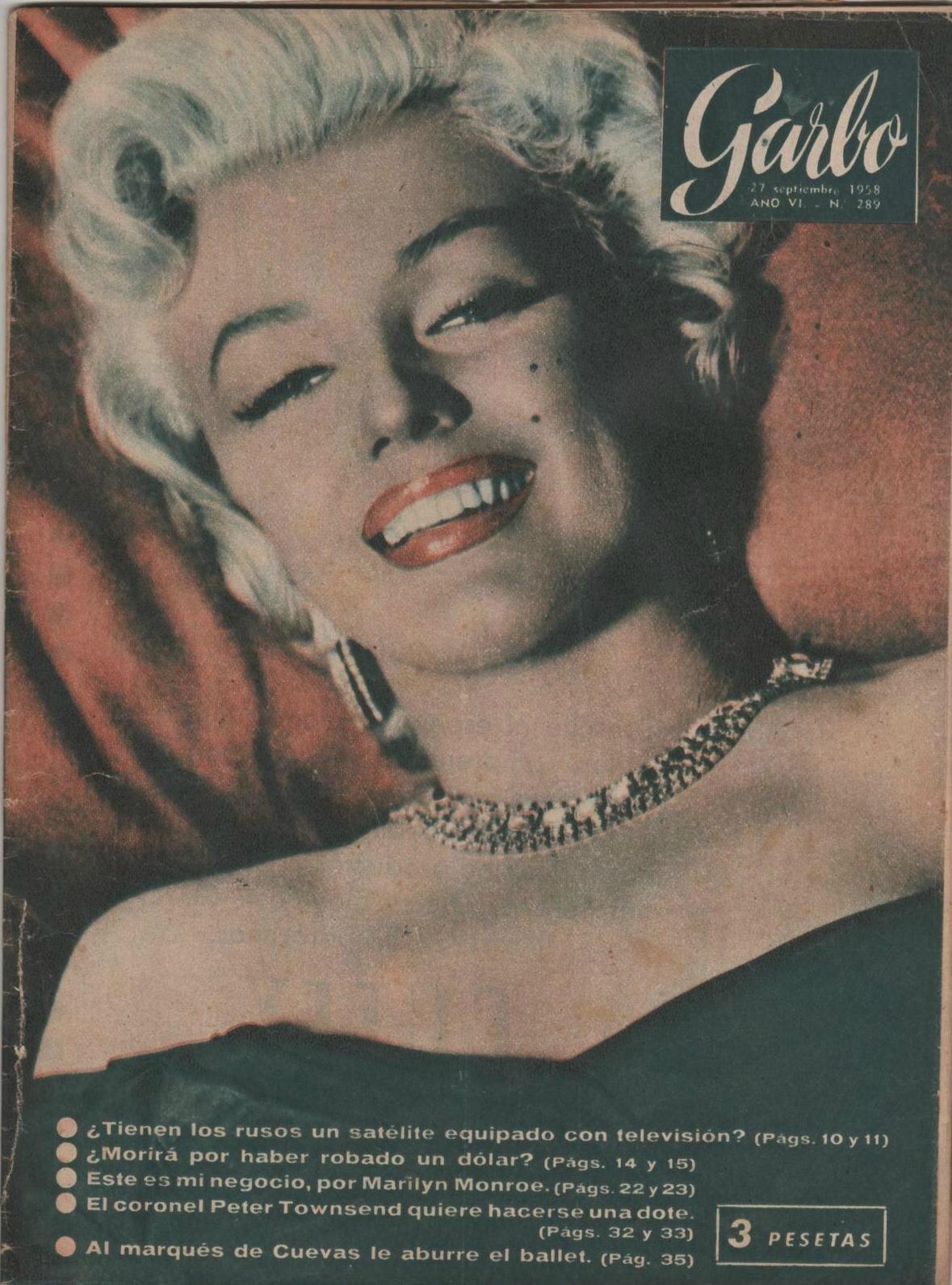 Garbo (esp) 1958