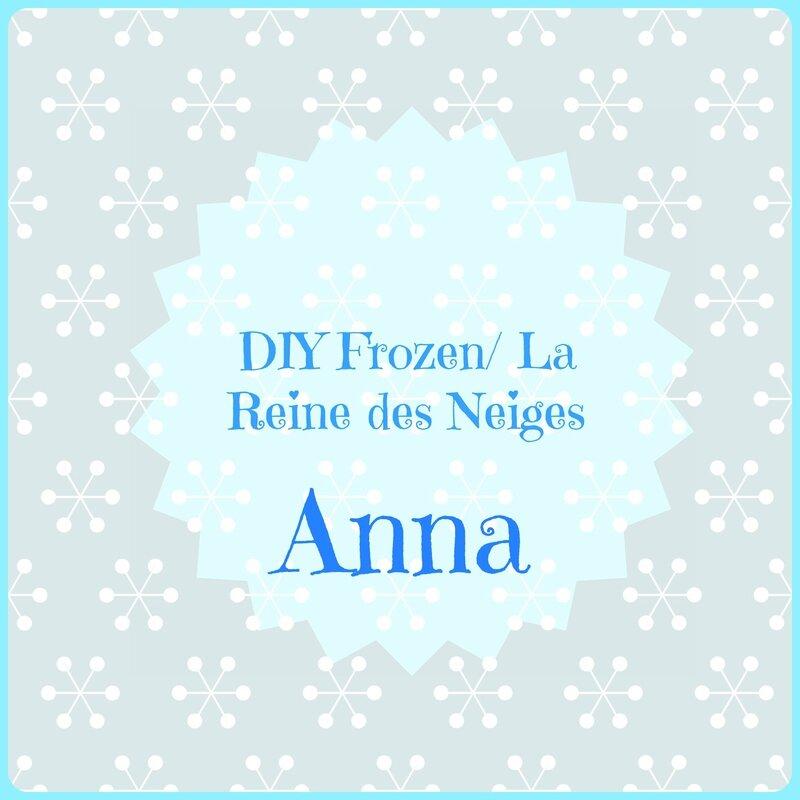Tuto  Anna  Au Couronnement  La Reine Des Neiges    Frozen