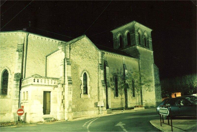 L'église Saint-Marc de nuit