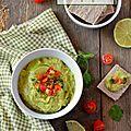 Guacamole (allégé au tofu soyeux) #vegan
