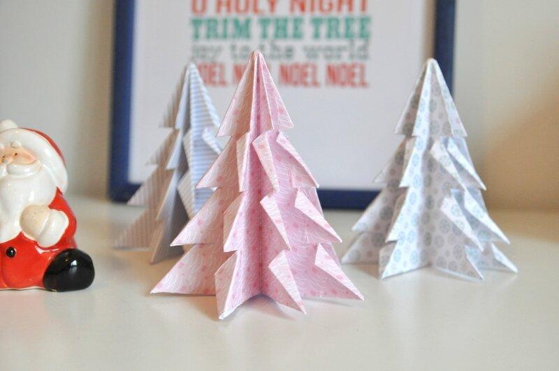 sapin 1 origami fannyseb 17 nov les lutins jour après jour forum clean et simple