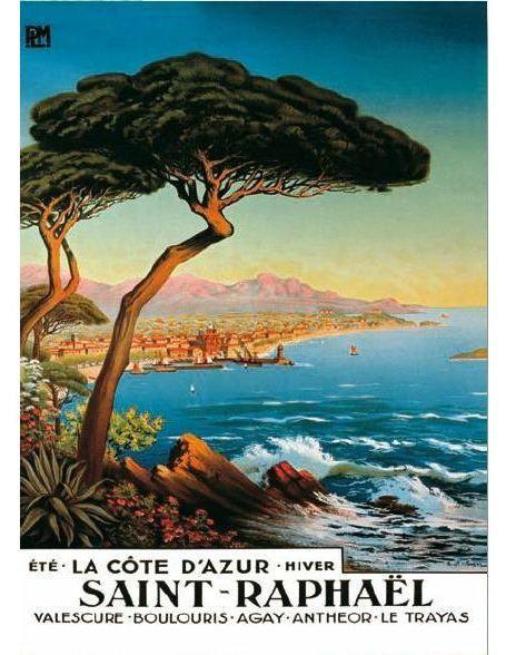 affiche-saint raphael de-morel-de-tanguy-sai