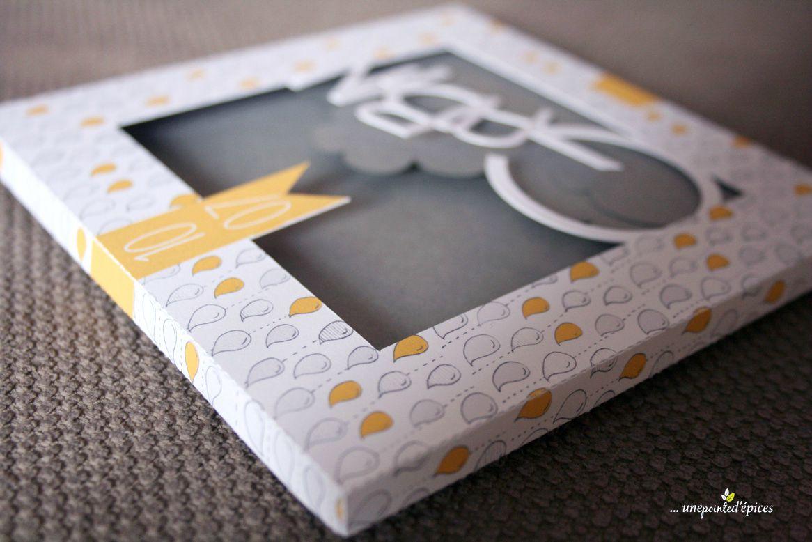 Populaire Naissance en gris et jaune - Une Pointe d'épices FE87