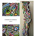 page 21 2013-TOTUM 75 SCHMIMBLOCK'S talltem 45,5cm x 10cm gouache T7 sur argile