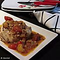 Cabillaud poêlé aux tomates cerises et basilic