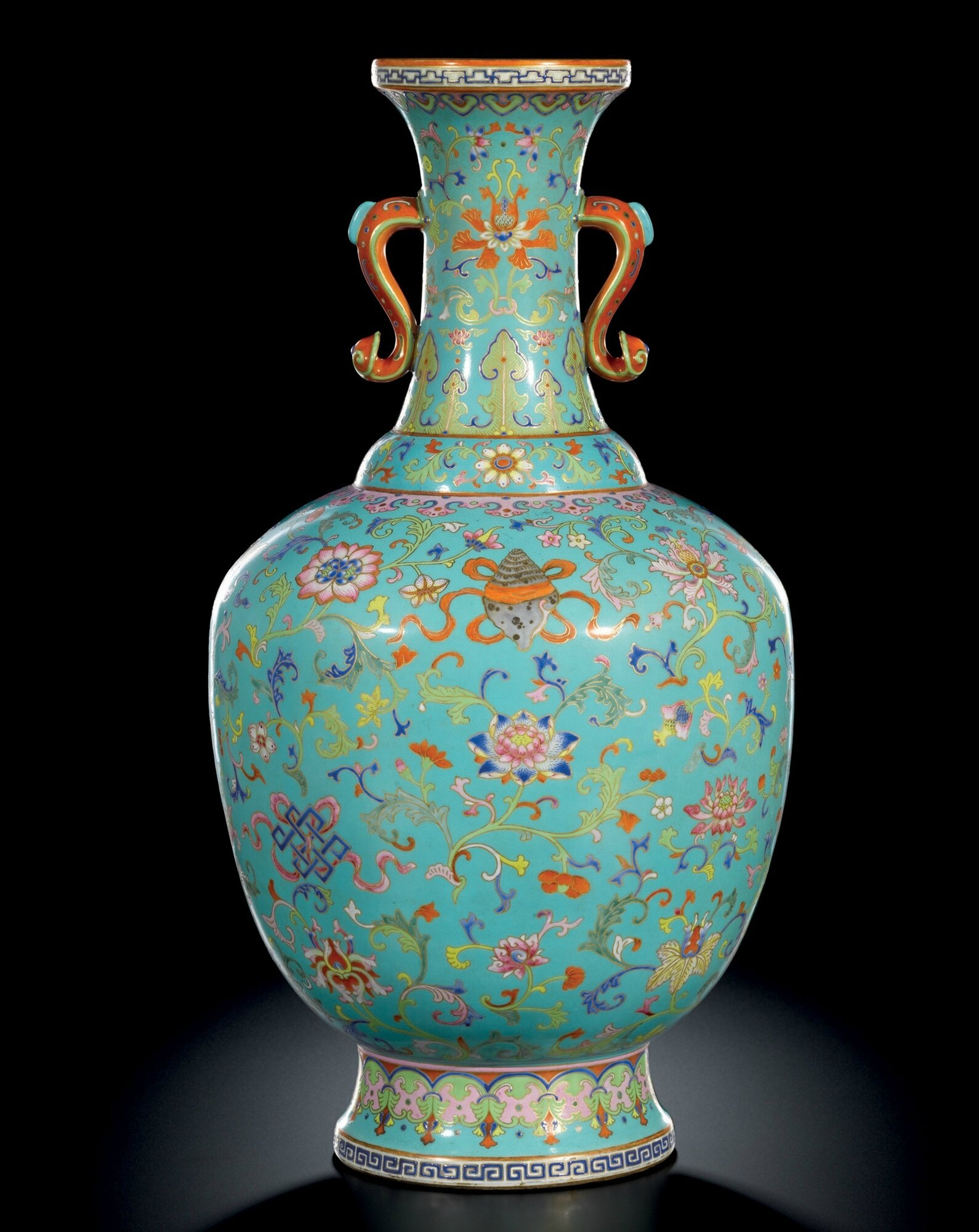 A very rare pair of imperial white glazed relief carved bottle a fine and rare large turquoise ground bajixiang imitation cloisonne vase reviewsmspy