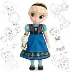 Poupée Animator Elsa / Disney Store / Prix indicatif : 30€