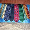 réutiliser des cravates