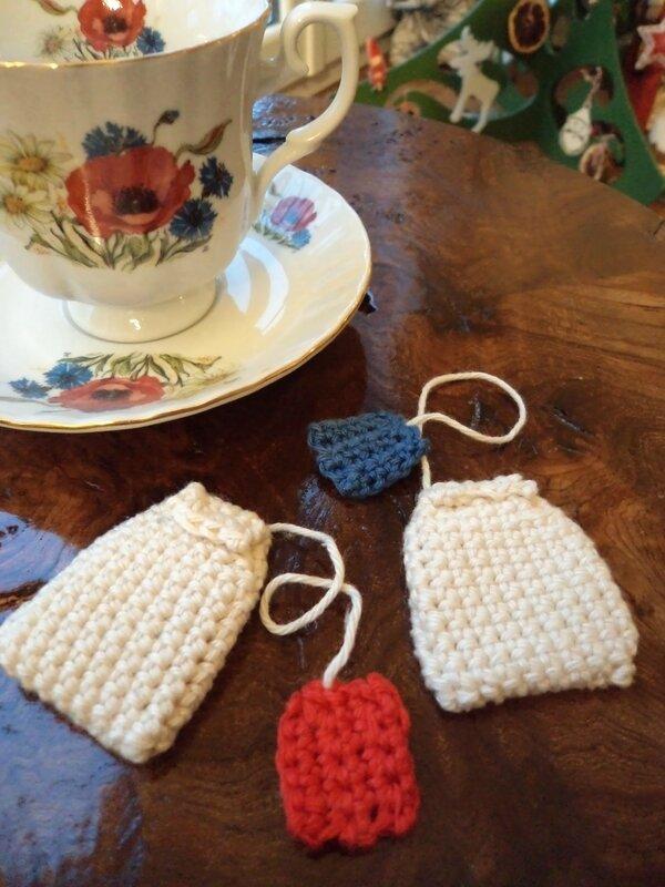 Sachets de thé au crochet Cam&Drey bricolent