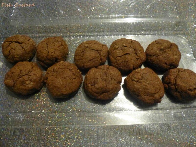 Cookies au beurre de cacahuète et cacao (1)