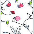 D*- Collection décors fleuris