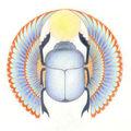 Un scarabée pour le sagittaire (talisman)