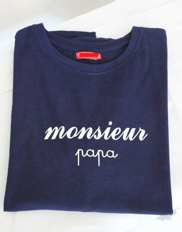 T-Shirt Monsieur Papa