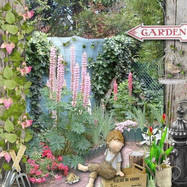 garden fleurs de saison