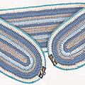 Les accessoires au crochet #15 : ceinture