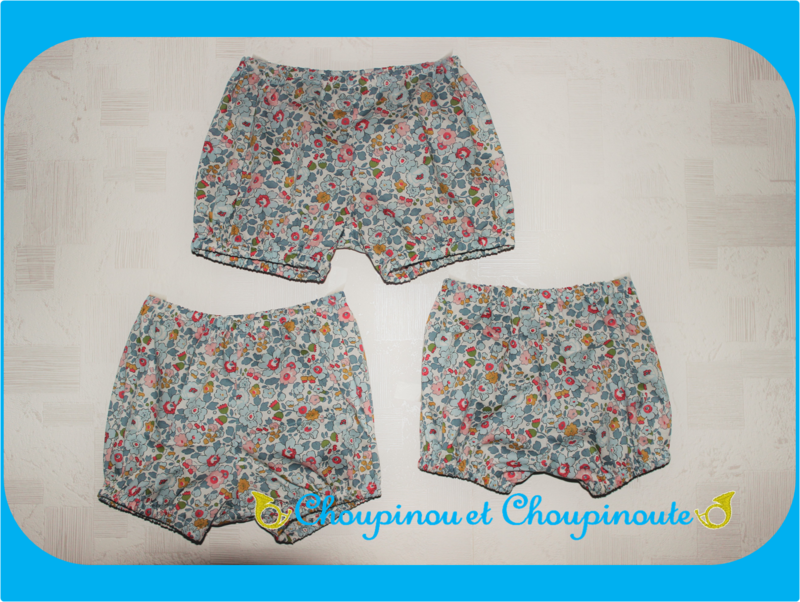 TRIO bloomers netsy porcelaine
