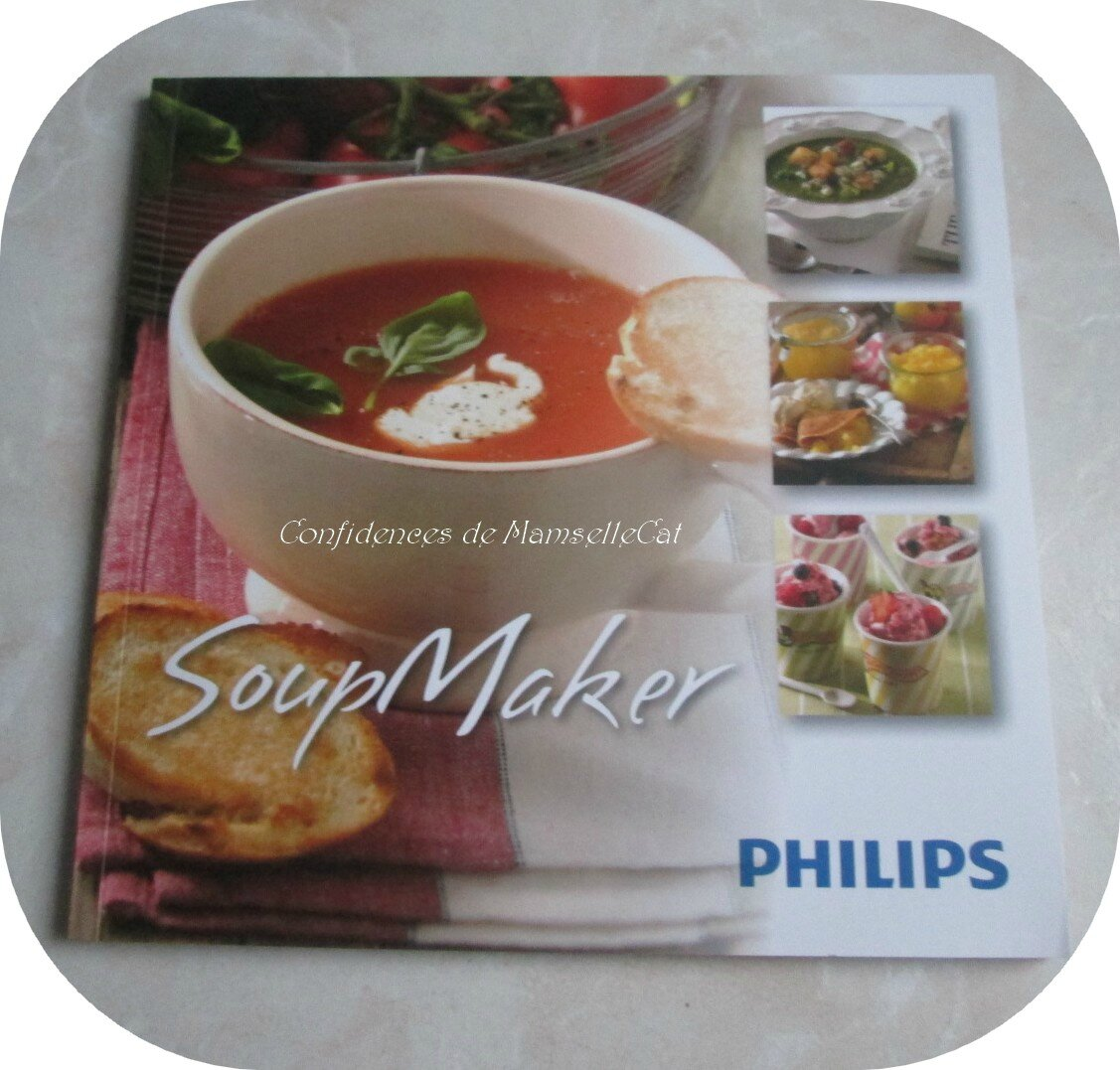 Delightful recette soup maker philips 9 philips hr2200 - Soup maker philips recettes ...