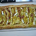 Tarte fine pomme-camembert-curry...