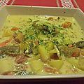Soupe de légumes indienne au curry