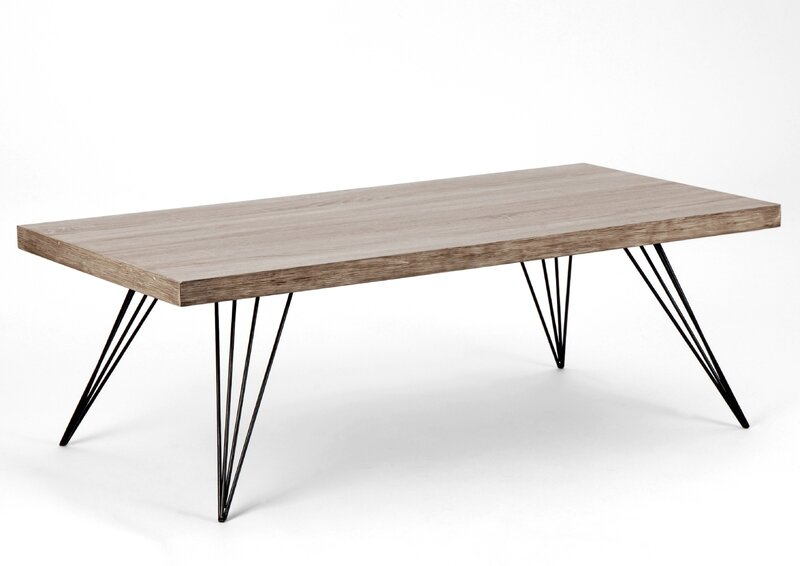 D co retro design pour votre salon meuble amadeus - Patte de table metal ...