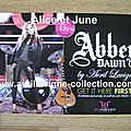 Carte postale promotionnelle Abbey Dawn for Just Fabulous (2012)