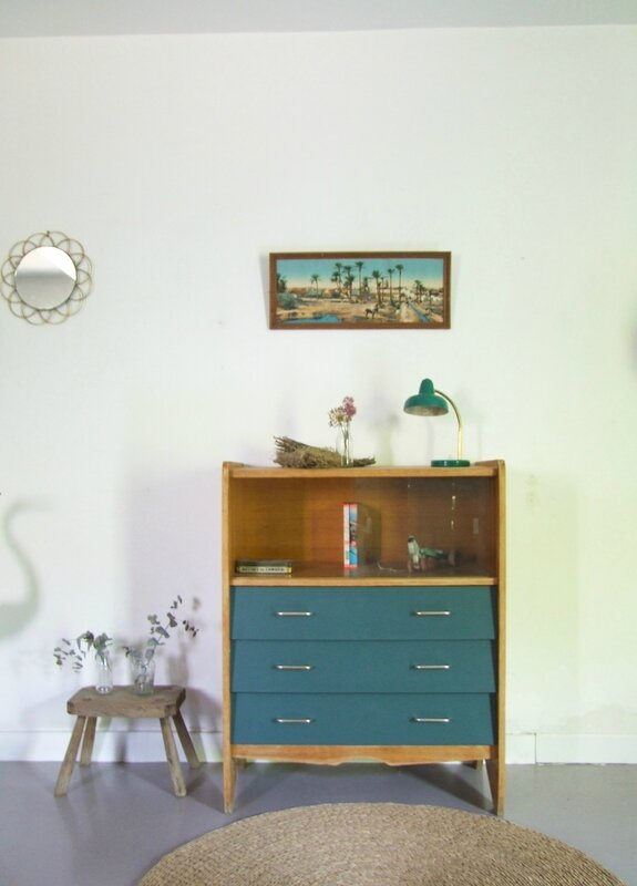 Commode vintage-