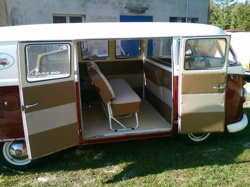 Clip vintage camper for Interieur combi split