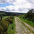 Au Col Santel, sous le Mont Lozère